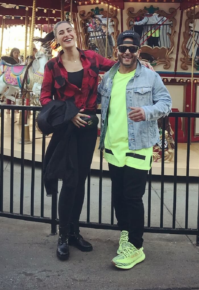 Nargis Fakhri and Matt Alonzo