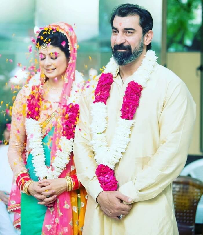 Pooja Batra and Nawab Shah