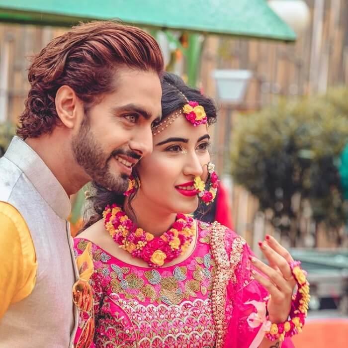 Rohit Purohit and Sheena Bajaj