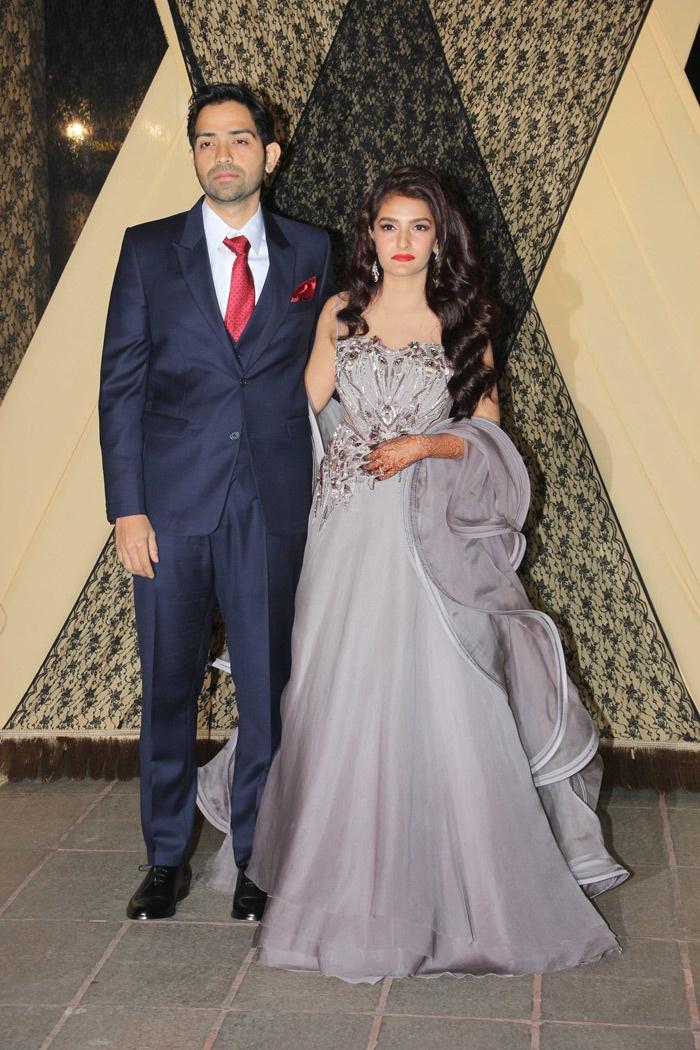 Sakshi Bhatt and Mazahir