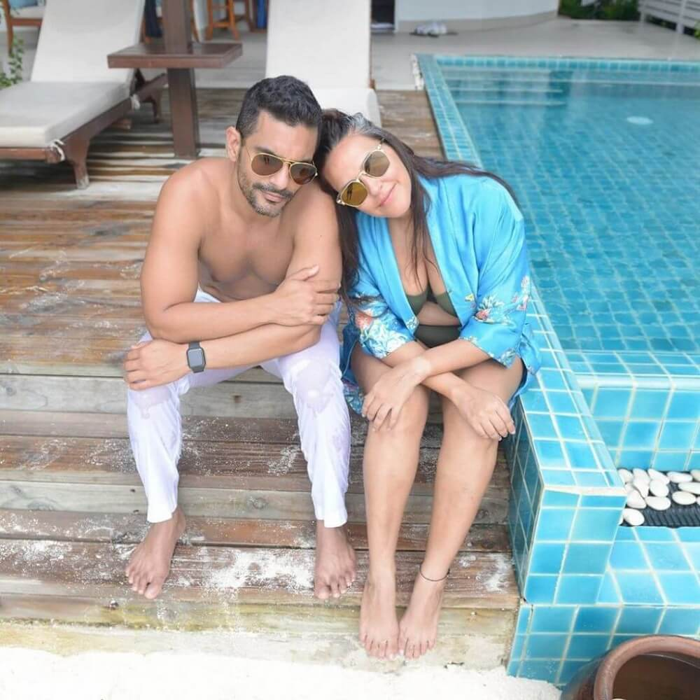 neha_dhupia_angad _bedi_maldives_vacation