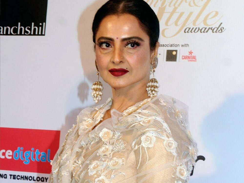 Actress-Rekha-Rekha The Timeless Beauty Feautured Image Verbena Shaadidukaan
