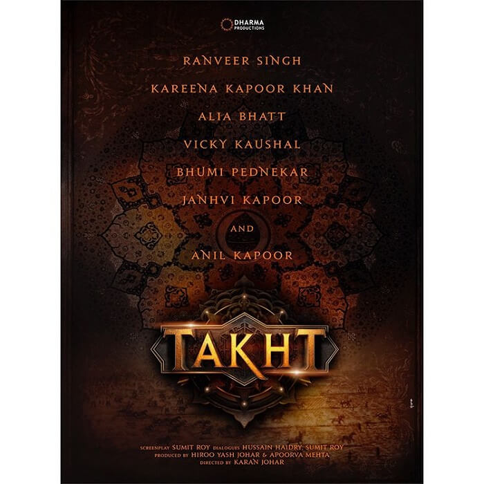 alia  bhatt movie takht